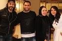 انجي علاء ويوسف الشريف مع اللاعب أحمد فتحي وزوجته