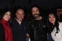 انجي علاء ويوسف الشريف مع المنتج تامر مرسي وزوجته