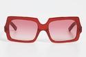 نظارات شمسية مربعة من Acne Studios