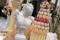 الحلوى من حفل استقبال ابنة فوز الشطي