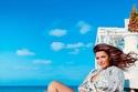 جلسة تصوير غادة عادل على البحر