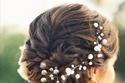 صيحة اللآلئ مع ستايل تسريحات الأعراس