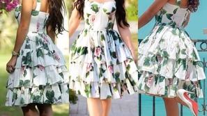 أمل العوضي تحسم الجدل وتثبت أنها أول من أطلت بفستان Dolce & Gabbana