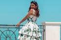 أمل العوضي بفستان Dolce & Gabbana