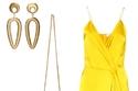 دعي أشعة الشمس تلهمك مع فستان أصفر نهاري