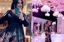 أحلام تخطف الأنظار في حفل زفاف بقلادة باهظة وفستان للمصمم إيلي صعب
