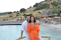 مراد يلدريم وزوجته ايمان الباني في بودروم