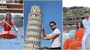 قبل كورونا: هكذا قضى مشاهير تركيا عطلاتهم الصيفية