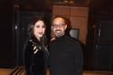 بوسي مع مدير أعمالها حمدي بدر