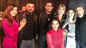 أزياء جريئة للنجمات في حفل خاص وتصرف مصطفى فهمي ومحمد رمضان يثير ضجة