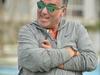 راغب علامة ينافس وائل كفوري في مباراة تنس