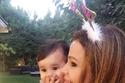 كارول سماحة تحتفل بعيد ميلاد ابنتها تالا الأول