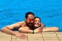 أحمد زاهر يحتفل بعيد ميلاد ابنته