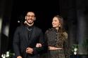المخرج علي العربي وزوجته