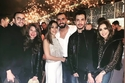 احتفال أنغام وزوجها بخطوبة محمد الشرنوبي إلى مديرة أعمالها