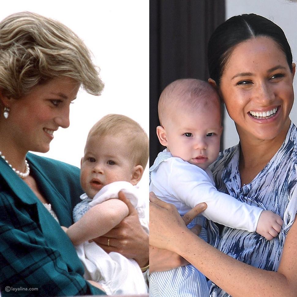 الأمير هاري وابنه آرتشي