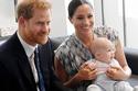 لقطات تثبت أن آرتشي ابن الأمير هاري هو نسخة من والده