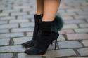 حذاء بالفراء وجلد الغزال لبرج الجوزاء