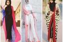 العباءة الملونة مع أزياء الكاجوال
