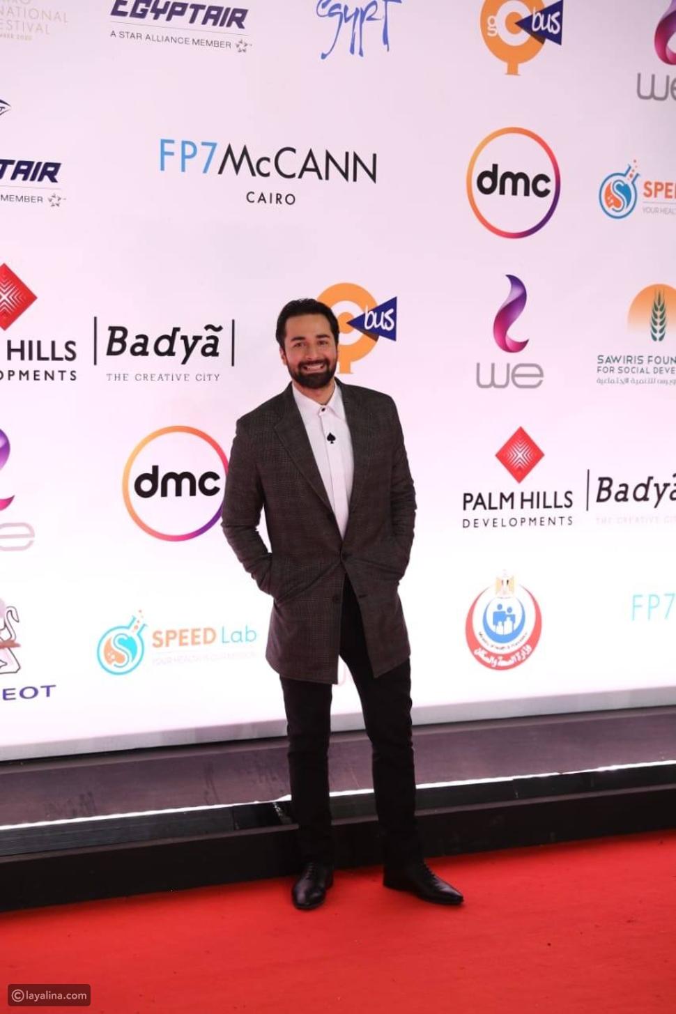 إطلالات المشاهير الرجال في حفل ختام مهرجان القاهرة 2020: عاشق وجريء!