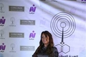 نرمين الفقي تستعرض رشاقتها في حفل جوائز قناة نايل دراما لعام 2018