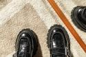 موديلات أحذية نسائية للعمل بتصميم اللوفر