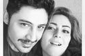عائلة نهى عابدين الحقيقية المكونة من زوجها الفنان السوري حازم زيدان وابنها أيمن