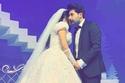 عقيل الرئيسي وفرح الهادي بحفل زفافهما الثاني