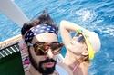 ريم البارودي مع صديقها المقرب