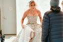 فستان زفاف جينيفر لوبيز من تصميم زهير مراد يخطف الأنظار
