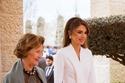 إطلالة الملكة رانيا مع الملكة سونيا عام 2020