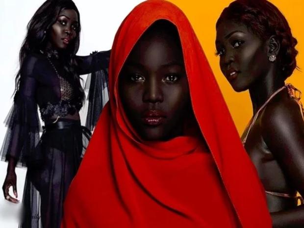 تعرفوا على عارضة الأزياء Nyakim Gatwech ولماذا لُقبت بملكة الظلام!
