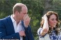 صور: دموع الأمير ويليام تخونه لدى مروره بنفس المكان الذي زارته والدته الراحلة الأميرة ديانا..