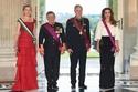 صور الملكة رانيا تختار دار أزياء بالمان لأناقتها خلال مأدبة العشاء الرسمية في بلجيكا