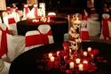 ديكورات أعراس باللون الأحمر لعروس الفالنتاين هذا العام