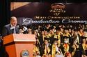أقيمت الاحتفالية من جامعة مصر للعلوم والتكنولوجيا