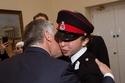 الأميرة سلمى بنت عبد الله الثاني مع الملك