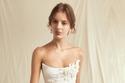 فستان زفاف قصير من مجموعةOscar de la Renta