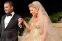 إطلالات النجمات في زفاف ابن إيلي صعب والعروس تسحر العيون بفستان ثانِ