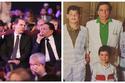 الزعيم عادل إمام وابنيه محمد ورامي