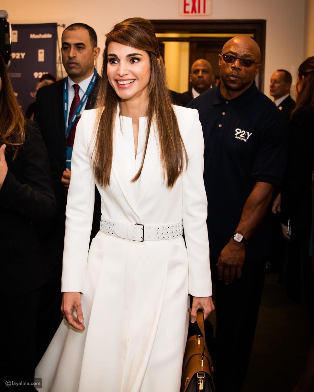 على غرار الملكة رانيا: طلي بالأبيض رمز التسامح والسلام في كل حين