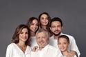 العائلة المالكة الأردنية باللونين الأبيض والأسود