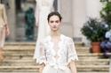 فستان دانتيل قصير من Elisabetta Franchi