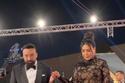 عبير صبري وزوجها الفلسطيني أيمن البياع