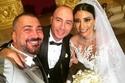 رودولف هلال وكاريل حايك يحتفلان بزفافهما