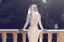 فستان بتصميم Mermaid بحزام وسط