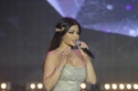 النجمة اللبنانية هيفاء وهبيفي حفل تتويج ملك جمال لبنان بفستان ساحر من زهير مراد