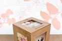 علبة خشبية للصور هدية عيد الأم