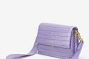 حقيبة أنيقة باللون البنفسجي من JW Pei