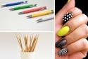 10 أدوات بسيطة يمكنك استخدامها في الرسم على الأظافر